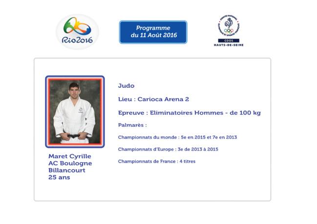 Programme des Athlètes Alto-séquanais : 11 Août