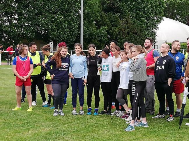 """Retour en images sur l'événement """"Rueil Rugby Girls"""""""