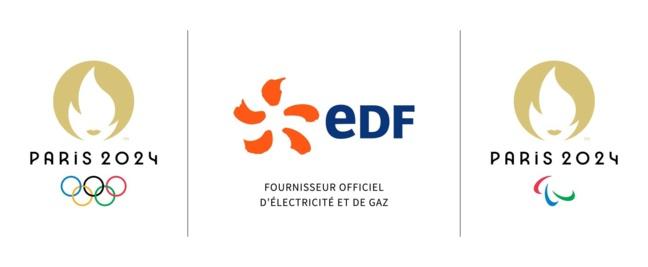 Le goupe EDF devient Partenaire officiel des Jeux de Paris 2024