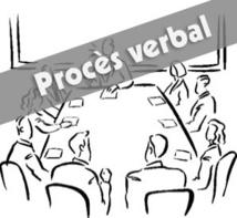 Procès Verbaux des réunions du Comité Directeur 2020