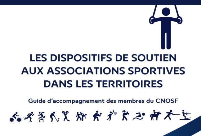 Dispositifs de soutien aux associations sportives - Le guide d'accompagnement