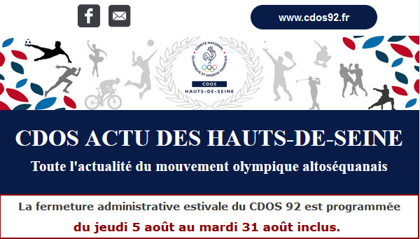 CDOS Actu des Hauts-de-Seine - Numéro 12 - Juillet 2021
