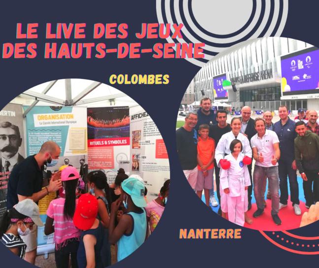 Les Jeux de Tokyo s'invitent dans les Hauts-de-Seine ! Le Live de Jeux de Colombes et Nanterre