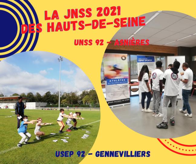 Retour sur la JNSS 2021 du CDOS 92 - évènements UNSS 92 et USEP 92