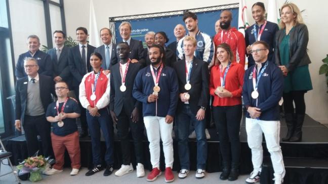 Le CDOS 92 célèbre les athlètes alto-séquanais médaillés à Tokyo