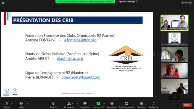 Retour sur la première formation des Mardis du CRIB à Nanterre