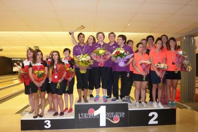 Championnat de France de Bowling des Clubs 2015 - Dames - Les résultats