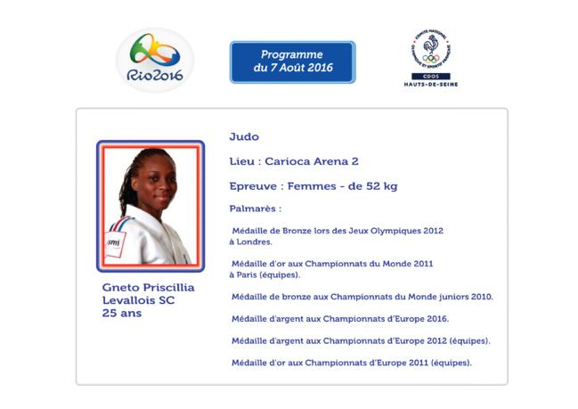 Programme des Athlètes Alto-Séquanais : 7 Août