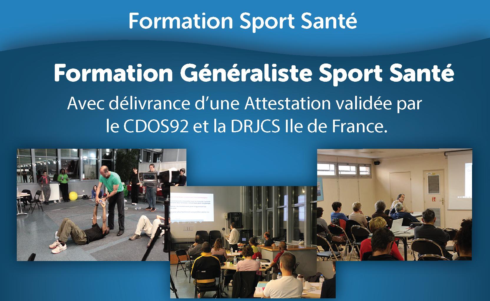 Formation Généraliste Sport Santé - Session juin 2019