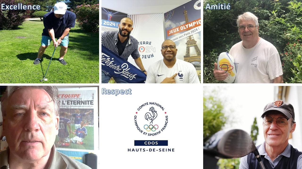 La Journée Olympique 2020 du CDOS 92 100% digitale !