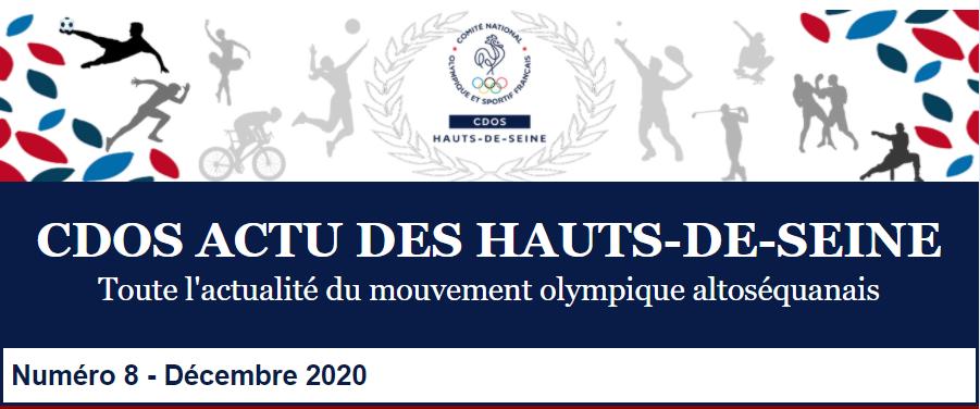 CDOS Actu des Hauts-de-Seine - N°8 - Décembre 2020