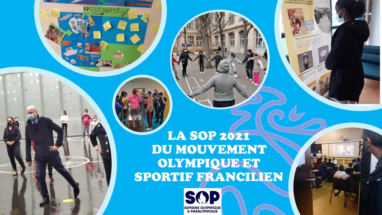 Retour sur les initiatives SOP 2021 du Mouvement Olympique et Sportif Francilien