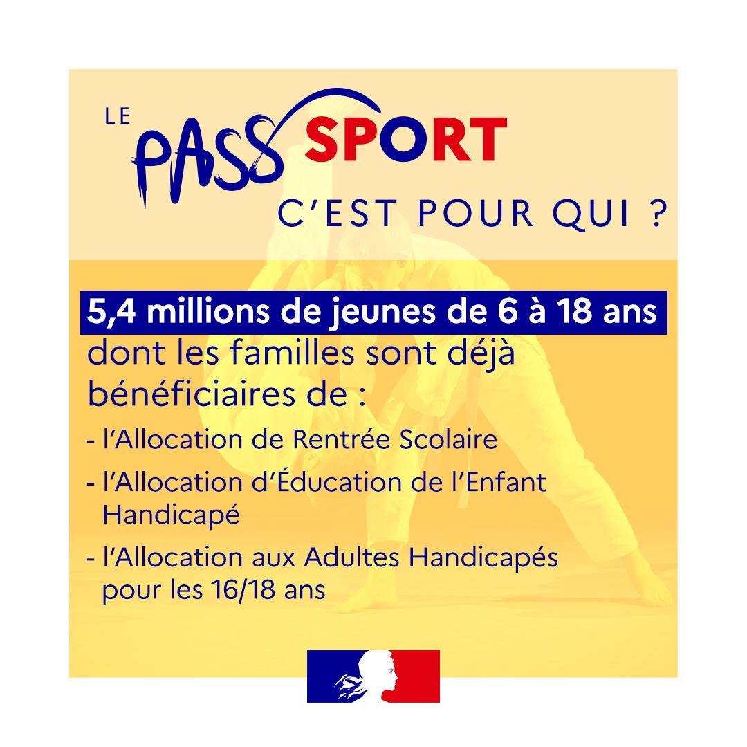 Lancement du dispositif Pass'Sport !