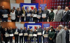 Remise des médailles ministérielles 2018 à la Préfecture de Nanterre