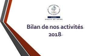 Bilan des activités de l'année 2018 du CDOS 92