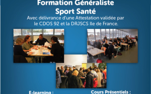 Formation Sport Santé - Session Nov-Déc 2019