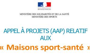 Appel à projets 2020 - Maisons Sport Santé