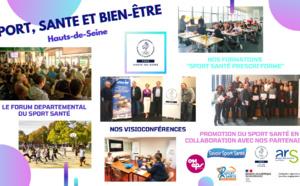 Nos actions en faveur du Sport Santé dans les Hauts-de-Seine