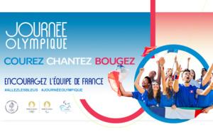 Célébrons la Journée Olympique 100% digitale en participant au Défi 2024m !